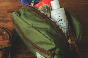 Dopp Kit - Travel Kit - Olive