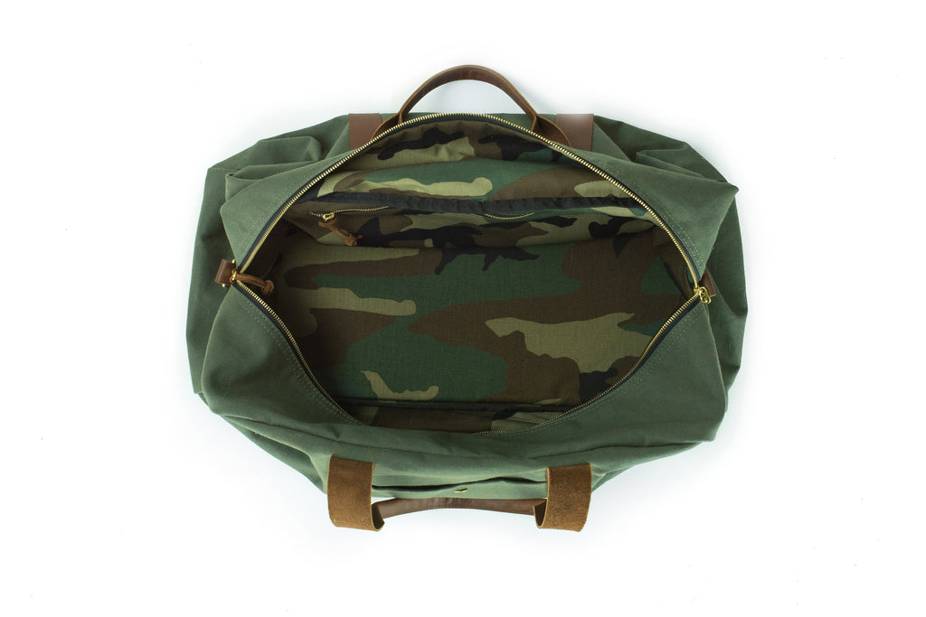 Duffle - Green Duffle Bag