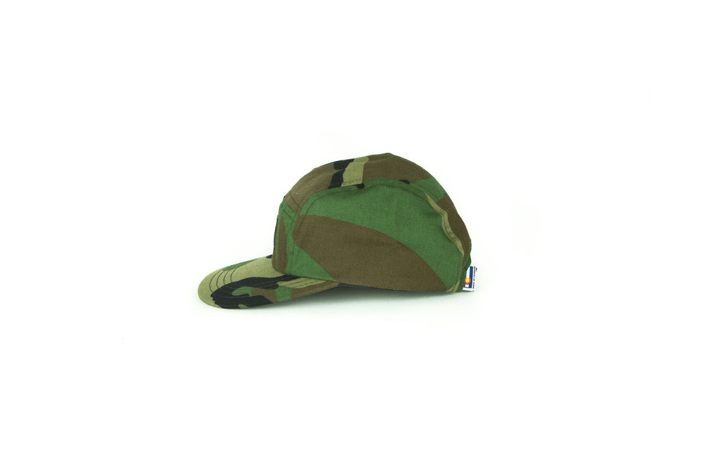 Five Panel Hat - Women's Five Panel Hat - Camo