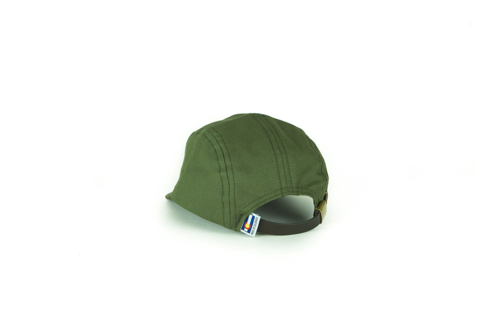 Five Panel Hat - Women's Five Panel Hat - Olive
