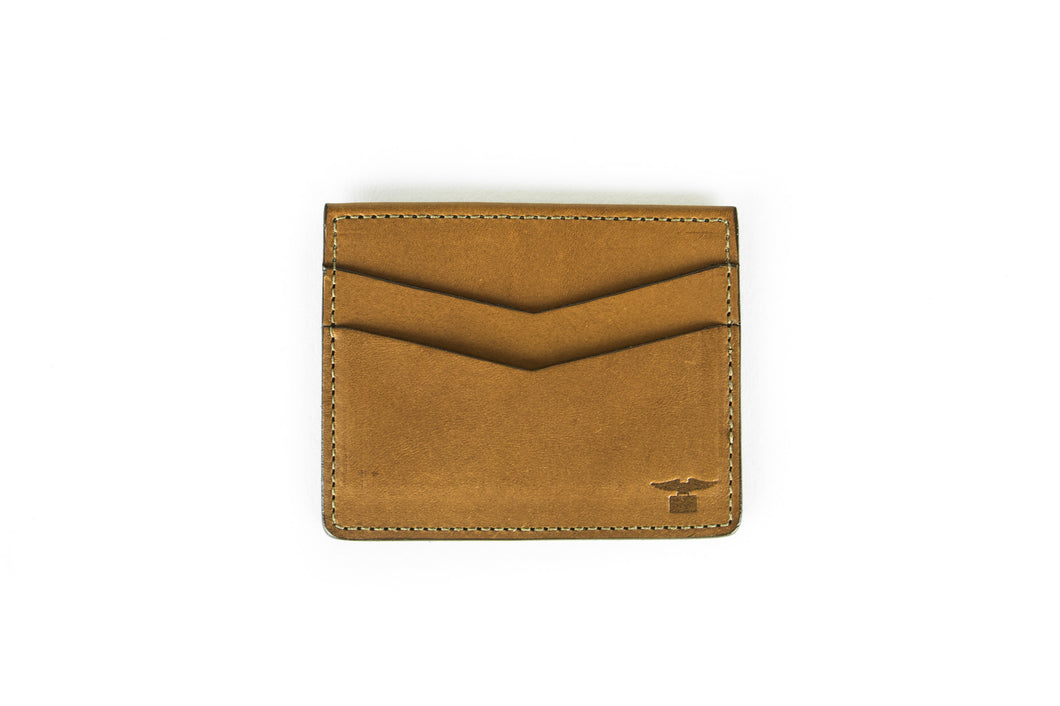 Wallet - Chevron Wallet - Brown