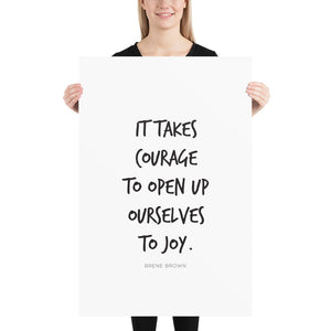 Open Ourselves Joy (Poster)