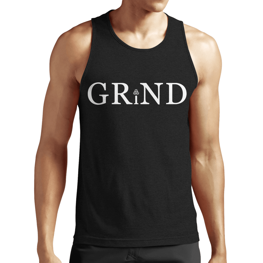 GRiND Mens Fitted Tank Top