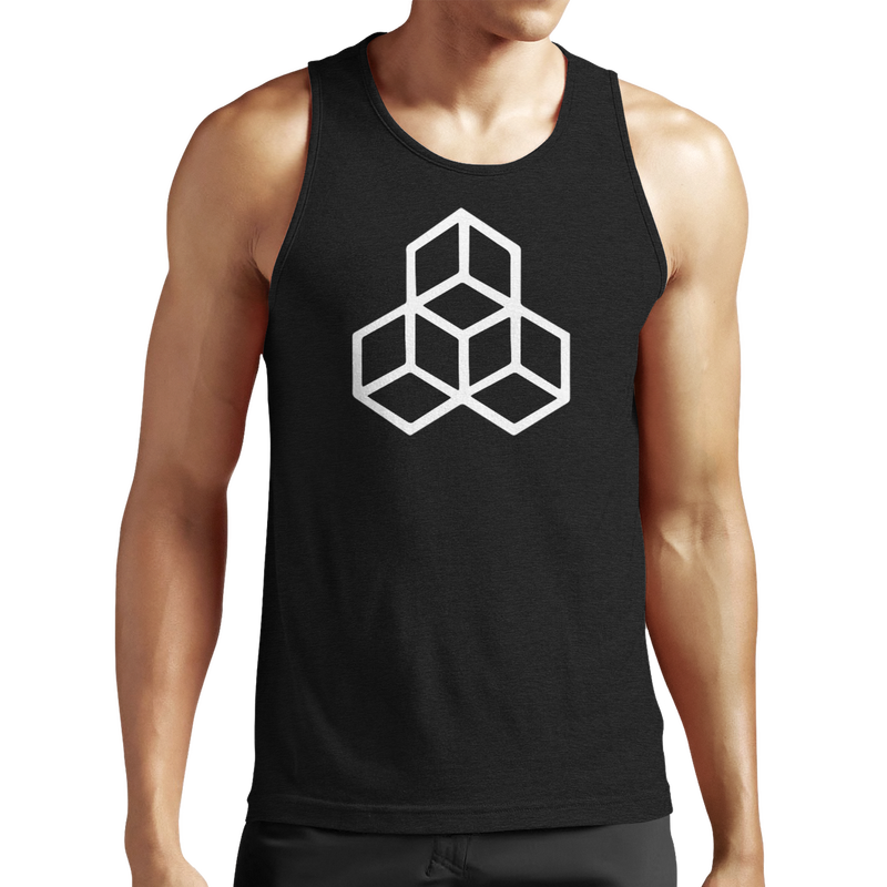 Mens Grind Fitted Tank Top