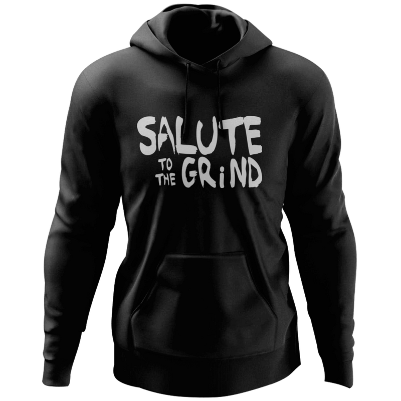 Mens Salute to The Grind Hoodie