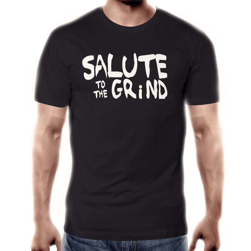 Mens Salute to the Grind T-shirt