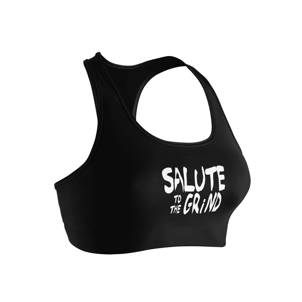 Women Salute to The Grind Sports Bra