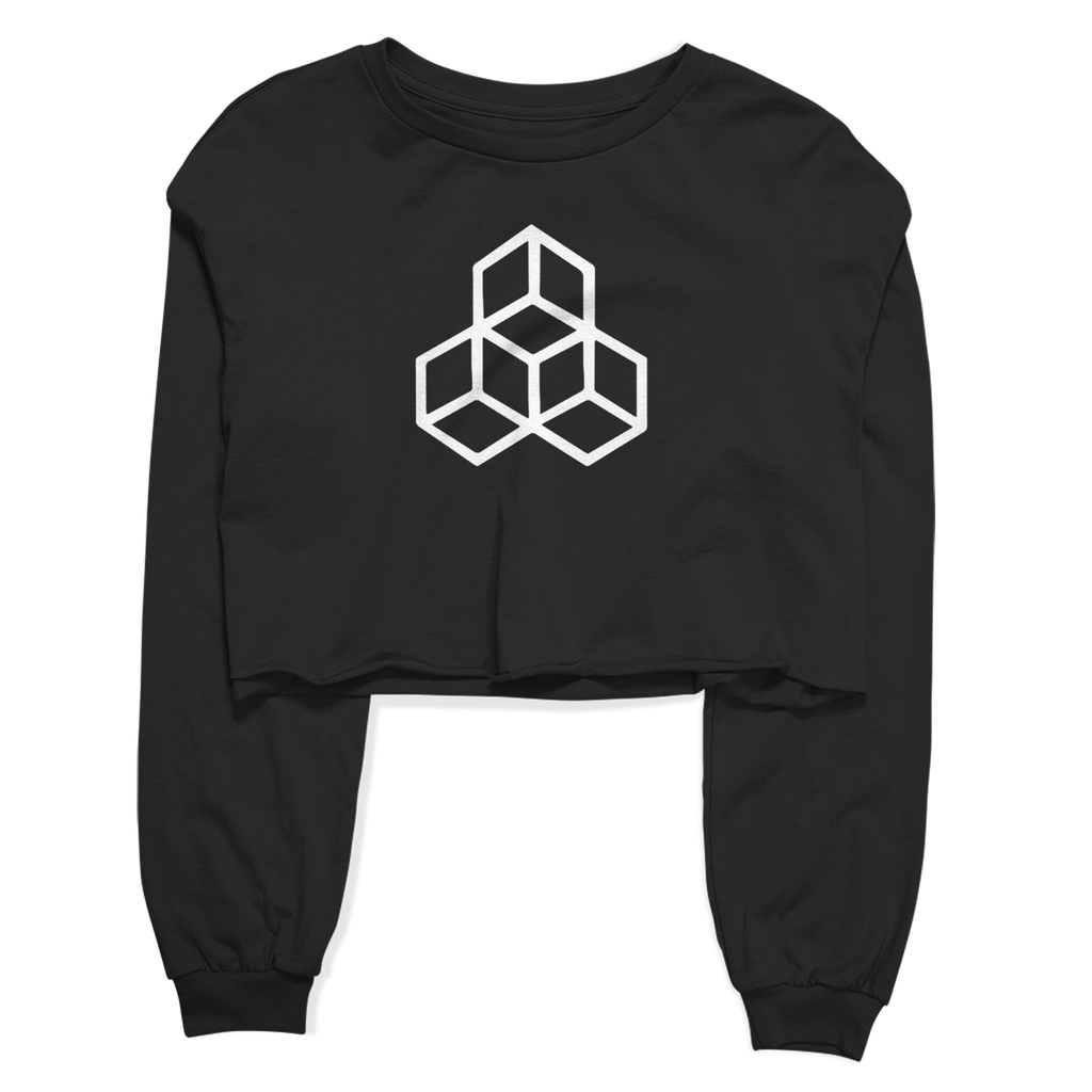 Women's Grind Crop Top Fleece