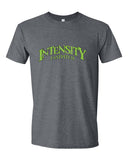 Indy Intensity Adult Black or Dark Heather Softstyle T-Shirt - L&M Spirit Gear