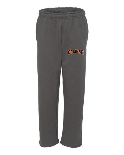 Eclipse Miller Charcoal DryBlend Open Bottom Pocketed Sweatpants SP1 - L&M Spirit Gear