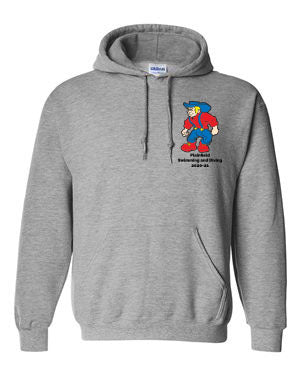 Plainfield Girls Swimming & Diving Hooded Sweatshirt - SP
