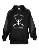 Infantry Baseball Saber Hooded Sweatshirt SP - L&M Spirit Gear