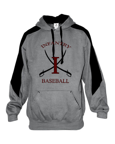 Infantry Baseball Saber Hooded Sweatshirt SP - L&M Spirit Gear  - 1