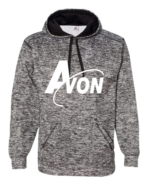 Avon Band Black Blend Polyester Fleece Performance Hooded Sweatshirt SP - L&M Spirit Gear