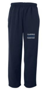 PFT Performance Open Bottom Sweatpants - EMB