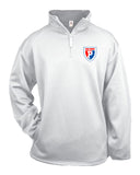 Plainfield Soccer Performance Fleece Quarter-Zip Pullover EMB - L&M Spirit Gear