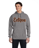 Eclipse Miller Lagoon Blue or Grey Garment Dyed Hooded Pullover Sweatshirt SP2 - L&M Spirit Gear  - 1
