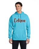 Eclipse Miller Lagoon Blue or Grey Garment Dyed Hooded Pullover Sweatshirt SP2 - L&M Spirit Gear  - 2