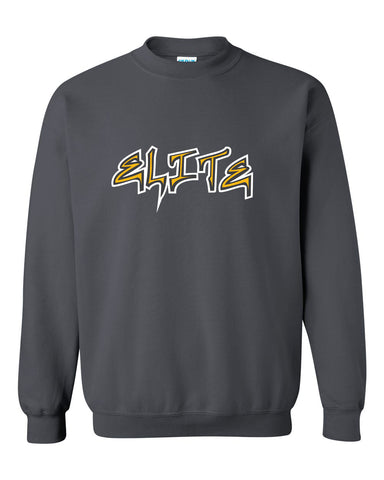 Elite Softball Heavy Blend Crewneck Sweatshirt SP1 - L&M Spirit Gear  - 1