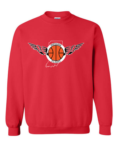 Indiana Flight Heavy Blend Crewneck Sweatshirt SP - L&M Spirit Gear