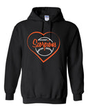 Scorpions Baseball Heavy Blend Hooded Sweatshirt SP4_Heart Glitter - L&M Spirit Gear  - 1