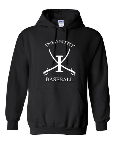 Infantry Baseball Heavy Blend Hooded Sweatshirt SP - L&M Spirit Gear  - 1