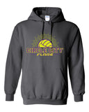 Circle City Flare Volleyball Heavy Blend Hooded Sweatshirt SP - L&M Spirit Gear  - 2