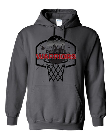 Danville MS Girls Basketball Heavy Blend Hooded Sweatshirt SP - L&M Spirit Gear