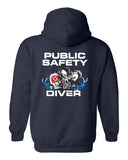 Fishers Fire Department Water Rescue Heavy Blend Hooded Sweatshirt SP3 - L&M Spirit Gear