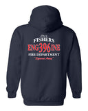 Fishers Fire 396 Heavy Blend Hooded Sweatshirt SP - L&M Spirit Gear  - 2