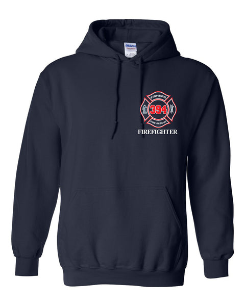 Fishers Fire 394 Heavy Blend Hooded Sweatshirt SP - L&M Spirit Gear