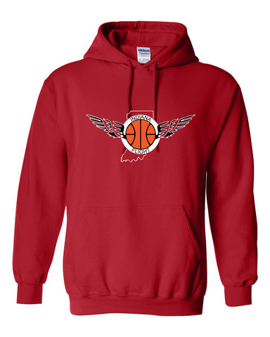 Indiana Flight Heavy Blend Hooded Sweatshirt SP - L&M Spirit Gear