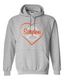 Scorpions Baseball Heavy Blend Hooded Sweatshirt SP4_Heart Glitter - L&M Spirit Gear  - 2