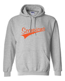 Scorpions Baseball Heavy Blend Hooded Sweatshirt SP4 - L&M Spirit Gear  - 2