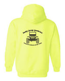 Jeep Junkies Safety Green Tee & Hoodie