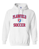 Plainfield Soccer Hooded Sweatshirt - SP