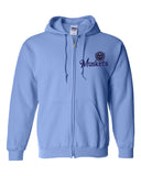 Muskets Baseball Youth Full Zip Hoodie - Glitter