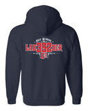 Fishers Fire 392 Ladder Heavy Blend Full-Zip Hooded Sweatshirt SP - L&M Spirit Gear