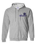Muskets Baseball Youth Full Zip Hoodie - SP