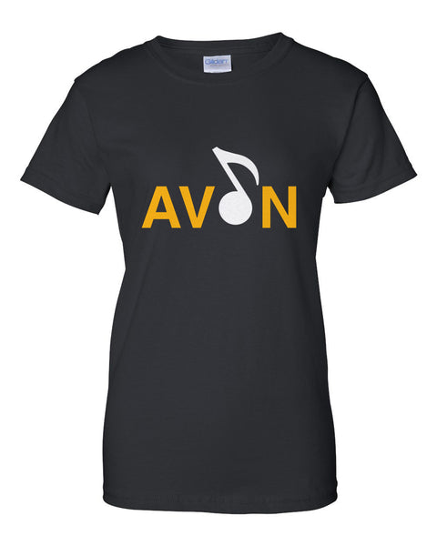 Avon Choir Ultra Cotton Women's T-Shirt SP2 - L&M Spirit Gear