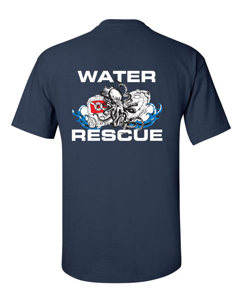 Fishers Fire Department Water Rescue Ultra Cotton T-Shirt SP2 - L&M Spirit Gear
