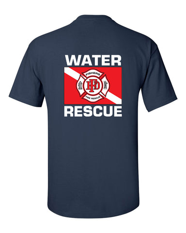 Fishers Fire Department Water Rescue Ultra Cotton T-Shirt SP4