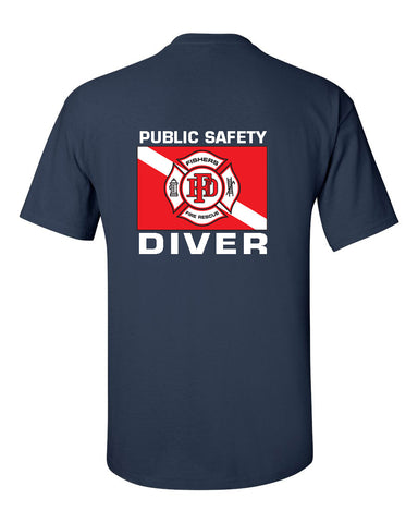 Fishers Fire Department Water Rescue Ultra Cotton T-Shirt SP5