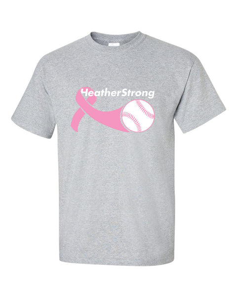 Heather Strong Ultra Cotton Short Sleeve T-Shirt SP - L&M Spirit Gear  - 1