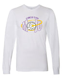 Circle City Mojo White Volleyball Tee Shirts SP