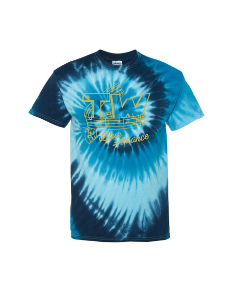 Tri-West Marching Band Tie Dye Tee