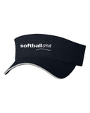 Softball one Sandwich Visor EMB - L&M Spirit Gear  - 1
