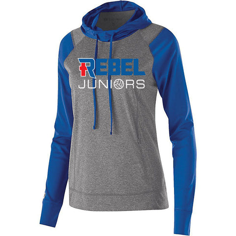 Rebel Juniors Women's Echo Hoodie Royal