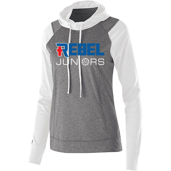 Rebel Juniors Women's Echo Hoodie White