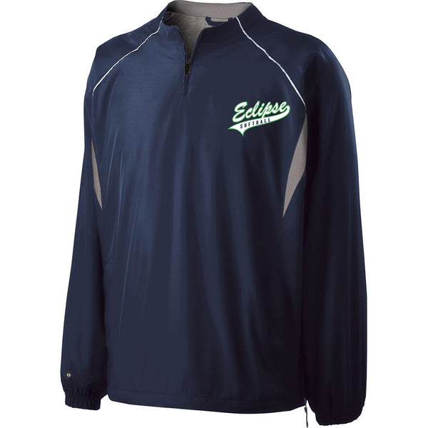 Eclipse Softball Pullover-Cook Embroidery - L&M Spirit Gear